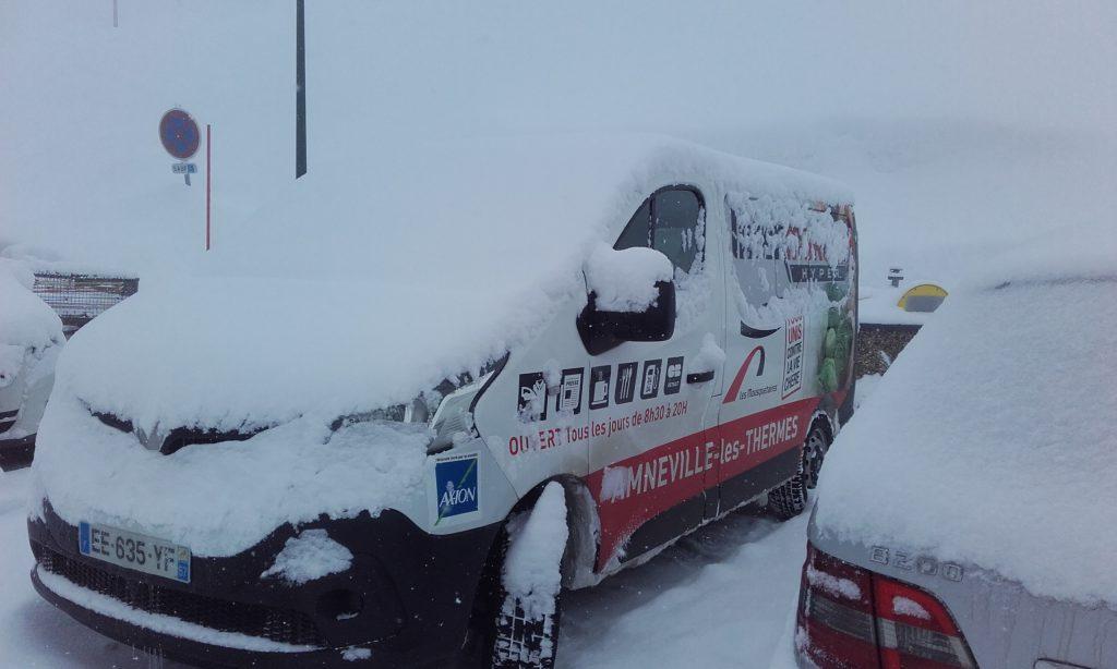 ValTho nos minibus sous la tempête
