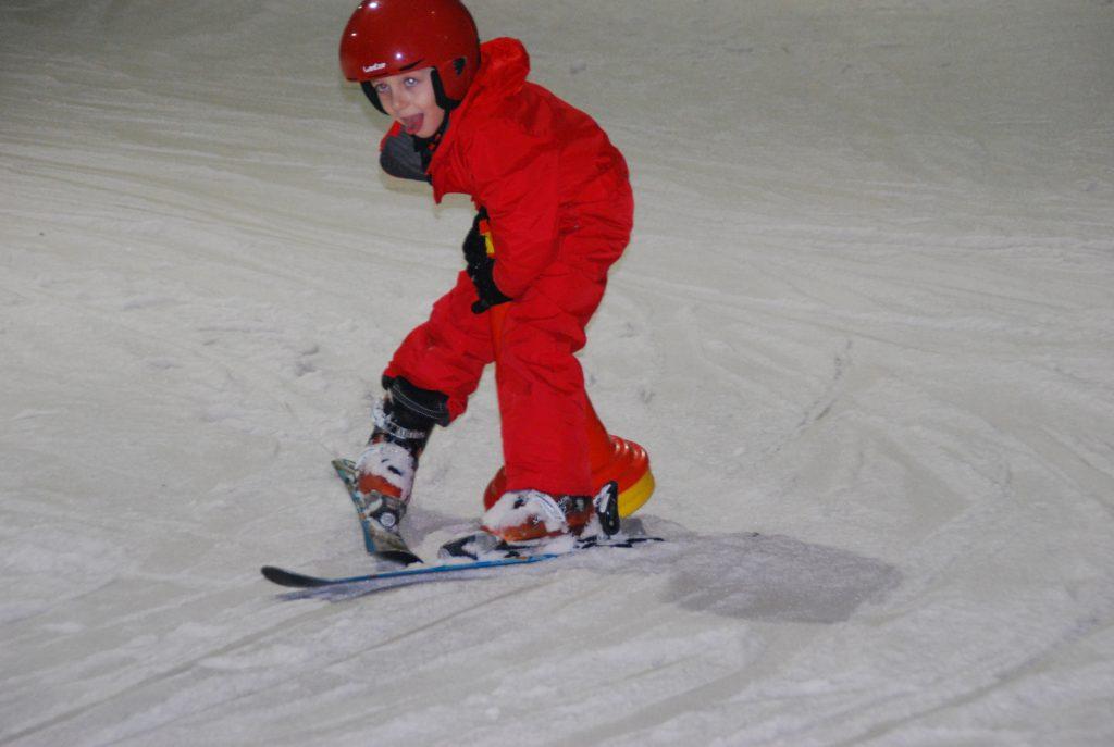 Découverte du ski à l'école